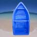 十堰塑料船价格湖北卓逸塑业塑料小船6米捕鱼船厂家直销