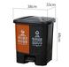 爆款廚余垃圾桶,分類垃圾桶,小型小區垃圾桶廠家直銷室內室外垃圾桶