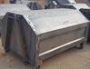 熱銷大號戶外不銹鋼勾臂式垃圾箱集裝箱車載車廂帶輪可卸載3方4方果皮箱