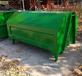 廠家直銷鐵皮垃圾桶垃圾箱小區物業室外大型戶外環衛鐵垃圾桶勾臂垃圾箱