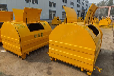 廠家直銷可攜式勾臂垃圾車垃圾箱定做勾臂垃圾箱小區社區環衛勾臂箱