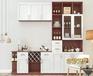 这样的酒柜设计一下就能提升你家的品味和格调