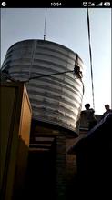 徐州楚汉不锈钢水箱方形消防水箱工程安装公司图片