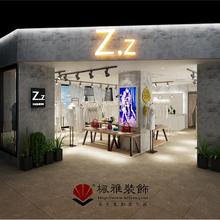 苏州商铺装修、服装店装修设计、观前街Z.z女装店装修案例
