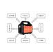 厂家直销Px5815卷帘门应急电源220V移动应急电源