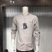 卡季品牌男装精品尾货一手货源厂家直销衬衫折扣批发