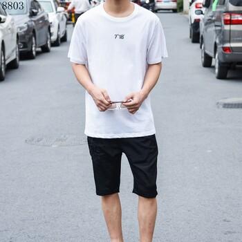 卡季男装2018男装潮流韩版上衣