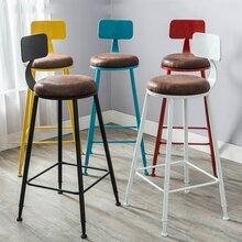 工业风椅子铁艺椅子餐厅酒吧沙发卡座办公椅子哪里买优惠图片