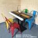 廠家定做餐廳桌椅工業風實木桌椅沙發休閑桌椅定做