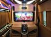 奔驰V260改装商务内饰,加装豪华氛围灯
