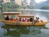 辽宁抚顺出售木船观光木船装饰船道具船渔船餐饮服务类船