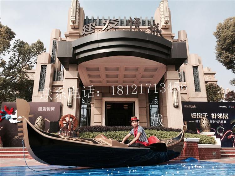 大型景区购买广东福建木船澳门威尼斯人酒店贡多拉客船-威尼斯灰理图片