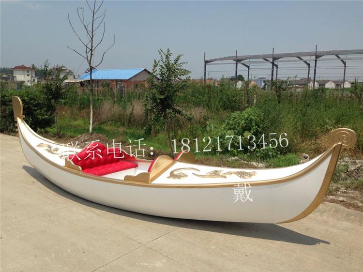 湖南河北哪有卖木船厂家出售优质威尼斯贡多拉船公园景区手划欧式图片
