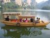 楚风木船出售中式观光休闲旅游服务类船特价批发