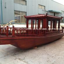 楚风木船手划船欧式木船摇橹船贡多拉游船服务类船出售