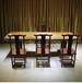 实木大斑马尺寸247-93.5~96.5-10办公桌茶几现货家有名木