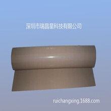 特氟龙耐高温玻纤布加工_铁氟龙带胶离型布_漆布无胶离型布批发