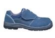 通气安全鞋、蓝色翻皮安全鞋、夏款安全鞋、劳保鞋