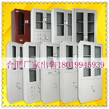 供应铁皮文件柜合肥资料柜档案柜器械柜包送货