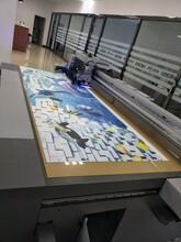 塑料金属木板玻璃瓷砖3d浮雕东芝UV平板打印图片