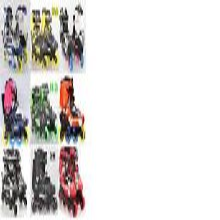 外贸版hv轮滑鞋包邮图片
