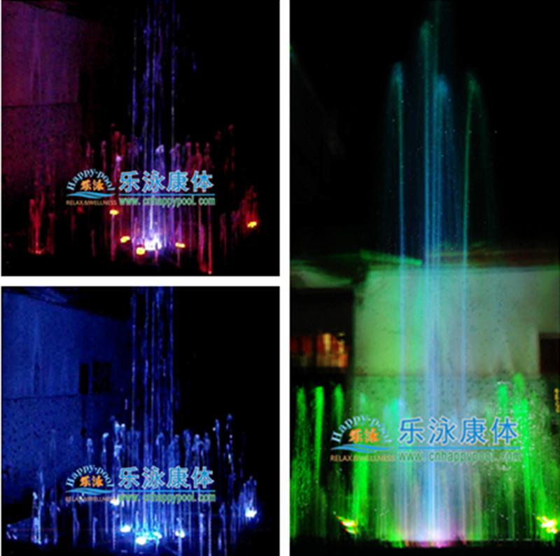 正方形喷泉喷泉喷头喷泉灯喷泉产品园景喷泉1.5m