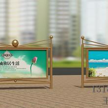 福建莆田宣传栏公交站台镀锌板宣传栏制作江苏亿龙标牌厂