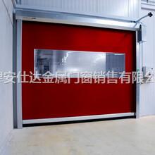 天津快速卷帘门维修,北辰区安装厂房快速卷帘门工业提升门图片