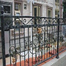 天津塘沽区定制铁艺围栏安装/铁艺围墙/铁艺防护栏