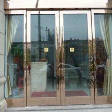 天津津南區安裝無框玻璃門,廠家定制鋼化玻璃門工藝精美圖片