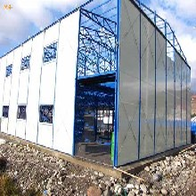 天津河东区安装钢结构厂房价格厂家定制钢结构库房图片