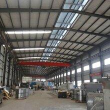 天津大港区定制钢结构厂房,现场安装钢结构雨棚图片
