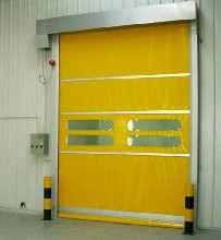 南开区定制堆积快速门厂家天津承接工业提升门安装业务图片
