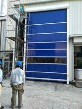 天津和平区安装堆积快速门厂家图片