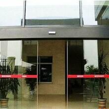 河東區安裝商場鋼化玻璃門,天津玻璃門安裝天津定制電動玻璃門自動感應門圖片