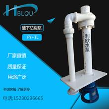 利欧水泵65FY-25液下排污泵、防腐泵、砂浆泵、渣浆泵、脱硫泵、不锈钢酸碱泵、化工泵