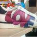 中山網紅小白鞋兩側logo印花機運動百搭鞋彩繪機