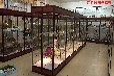 广西南宁货架展示架靠墙模型柜手办展示柜烟柜珠宝精品玻璃货柜