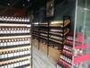 南宁母婴店货架商超货架钢木酒架书架