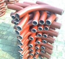 弯头法兰,三通异径管,弯管中频弯管,管道配件图片