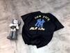 新进新宠潮流品牌美国NY扬基棒球品牌短袖外贸折扣批发、潮流品牌男装折扣批发