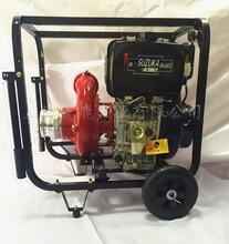 移动式柴油山地水泵图片