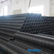 徐州供应HDPE聚乙烯dn200塑钢缠绕排污管图片