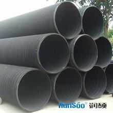徐州塑钢管厂家大口径聚乙烯塑钢缠绕排污管图片