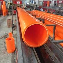 江苏厂家直销MPP电力管保护套电力工程用穿线管dn100-250图片