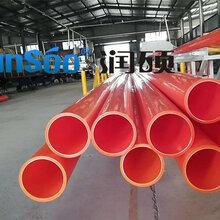 润硕品牌MPP电力管专业生产各类管材管件批发支持定制图片