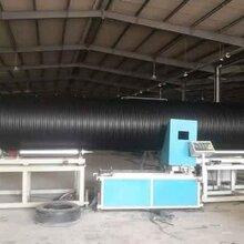 广东大口径pe塑钢缠绕管排污管厂家图片