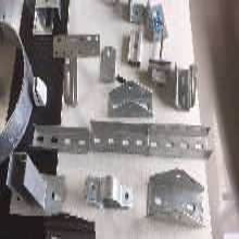 通化分布式光伏支架厂家定做,镀锌型钢支架图片