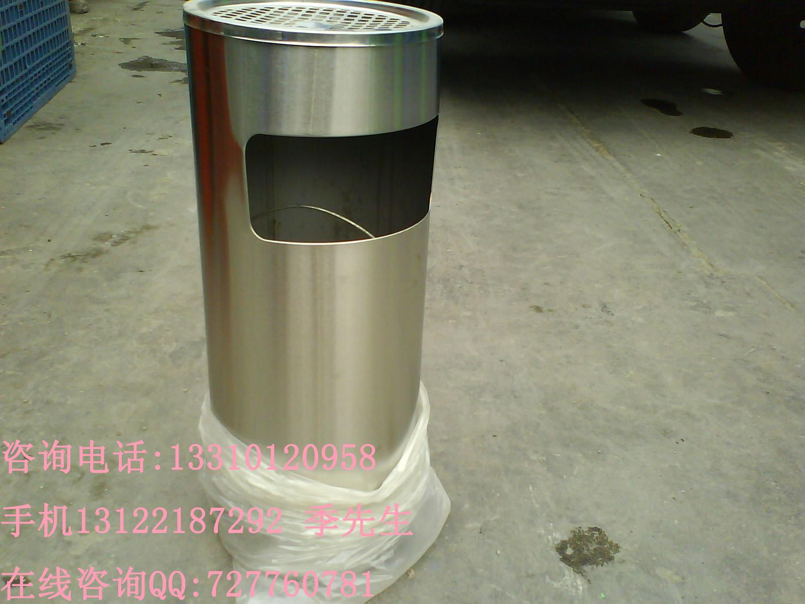 防锈304垃圾桶304户外分类垃圾桶不锈钢优质材质