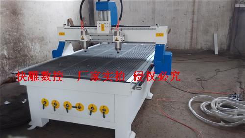 中国机床网 特种和行业专用机床 大型双头木工雕刻机  德州双头木工